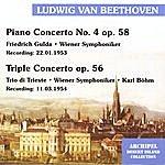Wiener Symphoniker Ludwig van Beethoven: Piano Concerto No. 4 op 58; Triple Concerto op. 56