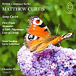 Gavin Sutherland Curtis: Chamber Works - Song Cycles To Poems By Anne Harris