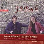 Trevor Pinnock J.S. Bach: Sonatas For Violin And Obbligato Harpsichord Vol. 1