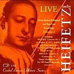Jascha Heifetz Jascha Heifetz Live: Never-Before-Published and Rare Live Recordings, Volume 3