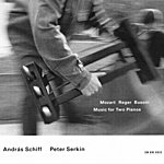 András Schiff Mozart, Reger, Busoni: Music for Two Pianos