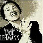 Lotte Lehmann The Very Best Of Lotte Lehmann