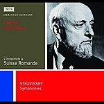 Ernest Ansermet Stravinsky: 3 Symphonies