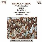 Jenő Jandó Franck / Grieg: Violin Sonatas