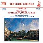 Nicholas Kraemer Vivaldi: Wind Concertos