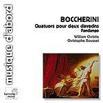 """William Christie Boccherini: Fandango, """"Quartettos"""" For Two Harpsichords"""