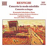 Konstantin Scherbakov Respighi: Concerto In Modo Misolidio / Concerto A Cinque