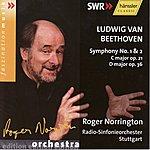 Sir Roger Norrington Ludwig Van Beethoven: Symphony No. 1 & 2