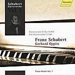 Gerhard Oppitz Schubert: Piano Sonata In G Major & Three Piano Pieces