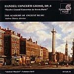 Andrew Manze Handel: Concerti Grossi, Op. 6 Nos. 1-12