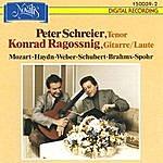 Peter Schreier Klassische Und Romantische Lieder Zur Gitarre