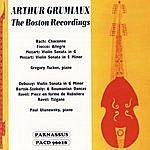 Arthur Grumiaux The Boston Recordings