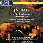 Martin Haselböck J. S. Bach: Die Orchester Suiten, Ouverturen  1-4, Konzert Für Zwei Cembali C-Dur BWV 1061, Violinkonzert In A-Moll BWV 1041