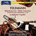 Martin Haselböck Telemann: Bläserkonzerte