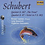 Bruno Canino Schubert: Quintet D.667 op. 114 The Trout, Quartet No. 10 D.87 op. 125.1, Octet in F D.803 op. 166