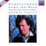 András Schiff Mendelssohn: Lieder ohne Worte
