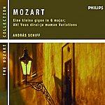 András Schiff Mozart: Eine Kleine Gigue in G major; Ah! Vous dirai-je maman Variations