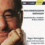 "Sir Roger Norrington Symphony No. 3 ""Scottish"" & Symphony No. 4 ""Italian"""