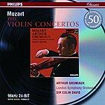 Arthur Grumiaux Mozart: Violin Concertos