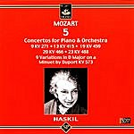 Clara Haskil Mozart - 5 Concertos for Piano & Orchestra