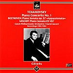 Czech Philharmonic Orchestra Emil Gilels Plays Tchaikovsky & Beethoven