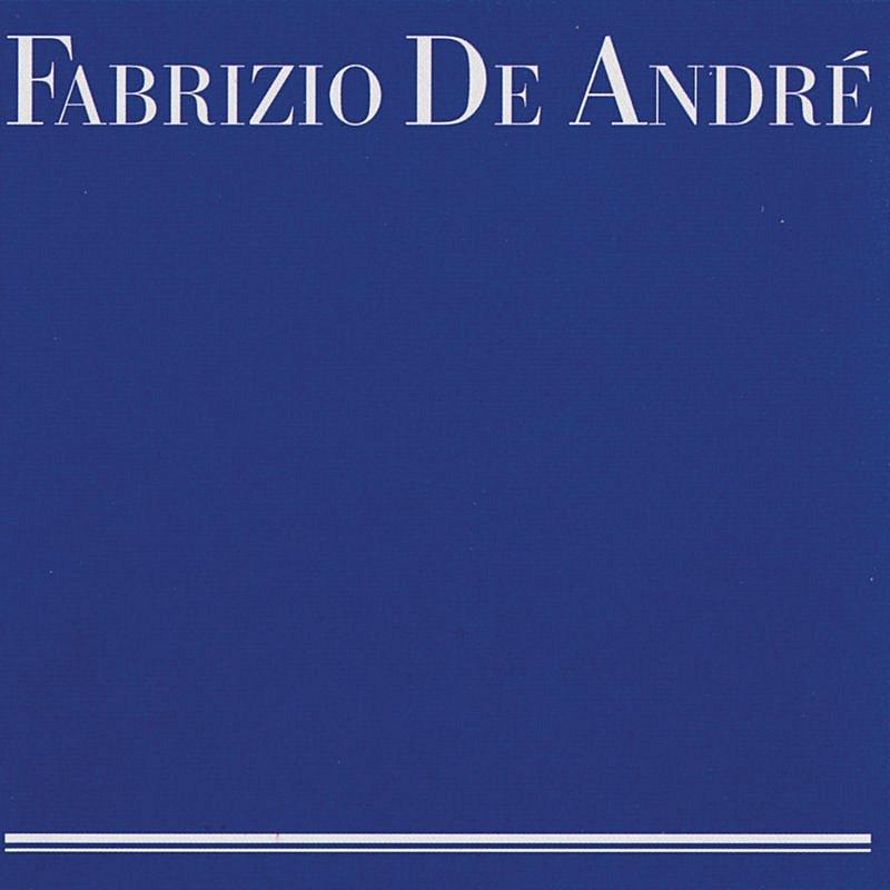 Cover Art: Fabrizio De Andrè (Blu)