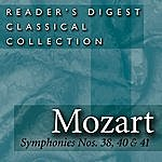 Wolfgang Amadeus Mozart Mozart:  Symphonies Nos. 38, 40, 41