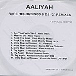 Aaliyah Rare Recordings & DJ Remixes