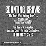 Counting Crows She Don't Want Nobody Near