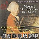 Juilliard String Quartet Mozart: 2 Piano Quartets, Flute Quartet
