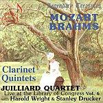 Juilliard String Quartet Juilliard Quartet, Vol.6: Live At The Library Of Congress