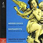 Gianandrea Noseda Orquestra De Cadaqués Performs Mendelssohn & Xostakóvitx