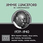 Jimmie Lunceford Complete Jazz Series 1939 - 1940