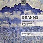 Christoph Eschenbach Brahms : Symphonies No.3 & 4, Overtures