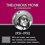 Thelonious Monk Complete Jazz Series 1951 - 1952