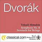 Yehudi Menuhin Antonín Dvorák, Symphony No. 8 In G Major, Op. 88