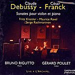 Bruno Rigutto Sonates Pour Violon Et Piano