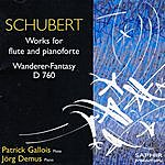 Patrick Gallois Schubert - Works For Flute And Pianoforte/Wanderer Fantasy D 760