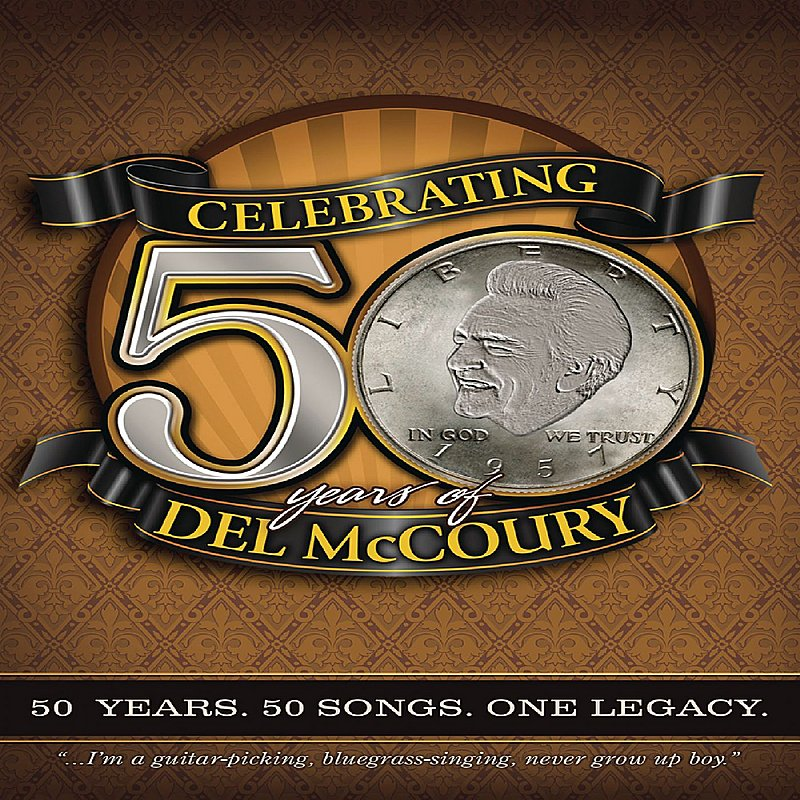 Cover Art: Celebrating 50 Years of Del McCoury