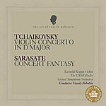 "Leonid Kogan Tchaikovsky: Violin Concerto In D Major - Sarasate: Concert Fantasy On Themes From Bizet's ""Carmen"""