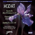 Anton Nanut Concertos For Horn & Harp/Sym. #23