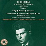 Emil Gilels Emil Gilels: The Early Recordings