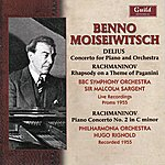 BBC Symphony Orchestra Benno Moiseiwitsch (1890-1963): Live From The Proms, Sept. 1955 & Abbey Road Studios, Aug. 1995