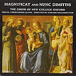 The Choir Of New College, Oxford Magnificat & Nunc Dimittis Vol. 15