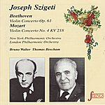 New York Philharmonic Beethoven: Concerto Vor Violin And Orchestra In D/Mozart: Concerto For Violin Orchestra No. 4 In D