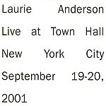 Laurie Anderson Live In New York