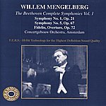 Willem Mengelberg The Beethoven Complete Symphonies, Vol.1