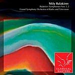 Evgeny Svetlanov Balakirev Symphonies Nos. 1, 2
