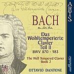 Ottavio Dantone Bach: The Well-Tempered Clavier, Book 2 - BWV 870-893