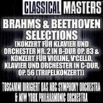 Arturo Toscanini Classical Masters: Brahms & Beethoven Selections (Konzert Für Klavier Und Orchester Nr. 2 In B-Dur Op. 83 & Konzert Für Violine, V'Cello, Kl